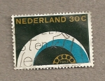 Stamps Netherlands -  Red telefónica