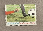 Stamps Netherlands -  Centenario fútbol en Holanda