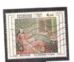 Stamps France -  la habitación turca- balthus