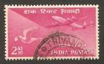 Sellos de Asia - India -  centº del sello, transportes postales, correo aereo