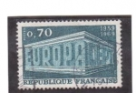 Stamps France -  europa cept