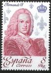 Stamps Europe - Spain -  2498 Reyes de España.Casa Borbón. Fernando VI.