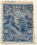 Stamps America - Ecuador -  Garcia Moreno
