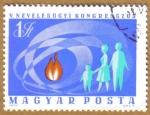 Stamps Hungary -  V NEVELESUGYI KONGRESSZUS