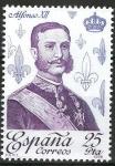Sellos de Europa - España -  2503 Reyes de España. Casa Borbón. Alfonso XII.