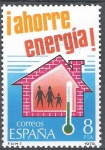 Stamps Spain -  2509 Ahorro de Energía. Calefacción.