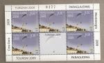 Stamps Europe - Montenegro -  Turismo-Parapente