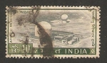 Stamps India -  reactor atómico de trombay