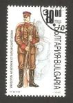 Stamps of the world : Bulgaria :  uniforme de soldado en la guerra de los balcanes