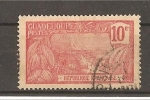 Stamps America - Guadeloupe -  Vistas.