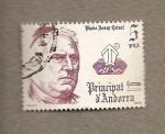 Stamps Andorra -  Obispo Josep Caixal