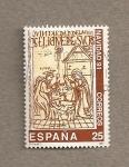 Stamps Spain -  Navidad 1991
