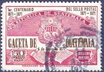 Sellos del Mundo : America : Guatemala : GUATEMALA Gaceta de Guatemala 0.50