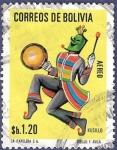 Sellos del Mundo : America : Bolivia : BOLIVIA Kusillo 1.20 aéreo