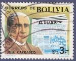 Sellos de America - Bolivia -  BOLIVIA José Carrasco 3