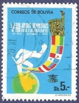Stamps Bolivia -  BOLIVIA VIII Juegos bolivarianos 5 (1)