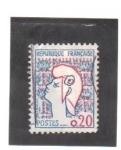 Stamps France -  marianne de cocteau