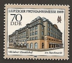 Stamps Germany -  Feria de Primavera de Leipzig 1989