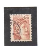 Stamps France -  sabie de gandon