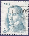 Stamps Chile -  CHILE Básica Diego Portales 1 (1)