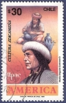 Stamps Chile -  CHILE Cultura atacameña 30