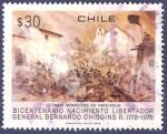 Sellos de America - Chile -  CHILE Rancagua / O'Higgins 30