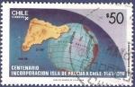 Sellos de America - Chile -  CHILE Centenario Isla de Pascua 50