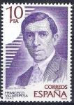 Sellos de Europa - España -  2514 Personajes españooles. Francisco Villaespesa.