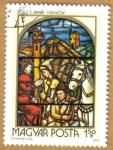 Stamps Hungary -  Vidrieras religiosas