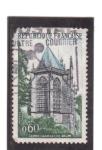 Sellos de Europa - Francia -  santa capilla de riom