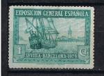 Sellos de Europa - España -  Edifil  434  Pro Exposiciones de Sevilla y Barcelona.