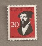 Stamps Germany -  Calvino reformador religioso