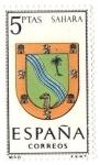 Sellos de Europa - España -  Escudos de Provincia - Sahara