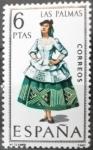 Stamps Spain -  Trajes típicos españoles