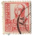 Stamps Europe - Spain -  Isabel la Católica