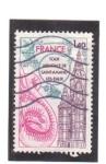 Stamps France -  torre de arratiale de san amano les eaux