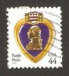 Sellos de America - Estados Unidos -  4154 - Condecoración militar, Corazón Púrpura, George Washington