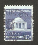 Stamps United States -  el capitolio