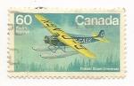 Stamps Canada -  Aeroplanes (Fokker Super Universal)