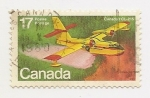Stamps Canada -  CanadairCL-215