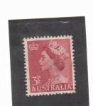 Stamps Oceania - Australia -  Isabel II