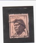Sellos del Mundo : Oceania : Australia : Albert Namatjira