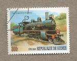Sellos de Africa - Guinea -  Locomotora dec Queensland (Australia)