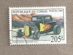 Stamps Africa - Republic of the Congo -  Automovil Ford modelo año 1932
