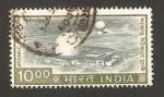 Stamps India -  reactor atómico de trombay