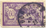Stamps Europe - France -  Postes Republique française