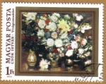 Stamps Hungary -  Temas florales CUADROS