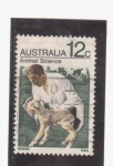 Stamps of the world : Australia :  CIENCIA Y ANIMALES