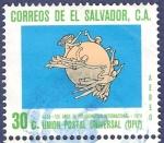 Stamps El Salvador -  EL SALVADOR Unión Postal Universal 30 aéreo