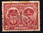 Sellos de Oceania - Australia -  Duque y Duquesa de Gloucester